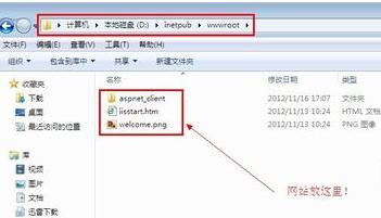 Web服务器的目录